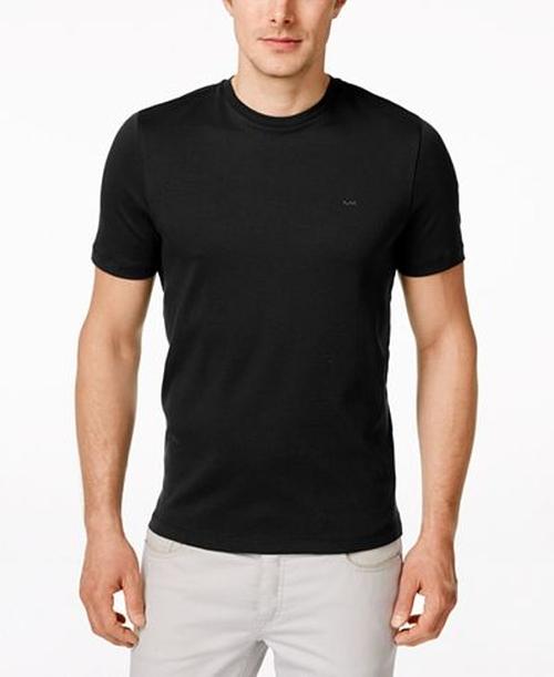 Men's Basic Crew Neck T-Shirt by Michael Kors in Joshy