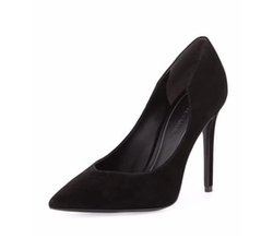 Abi Pointed-Toe Suede Pumps by Kendall + Kylie in Arrow