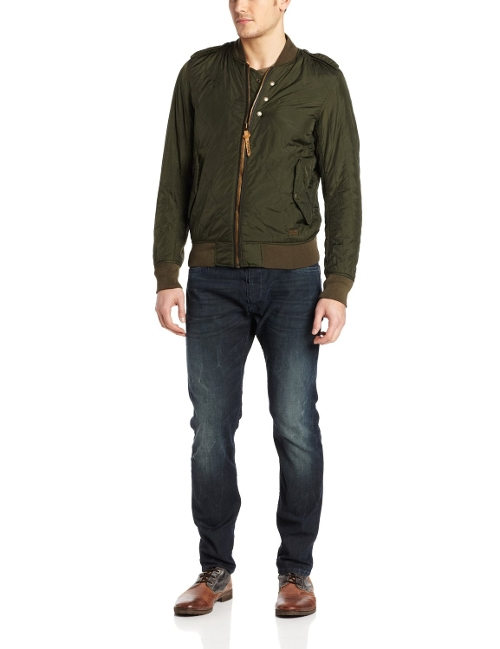 Wieter Quilted Bomber Jacket by Diesel in Furious 7