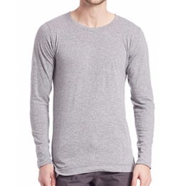 Mercer Long-Sleeved Tee Shirt by John Elliott in Keeping Up With The Kardashians