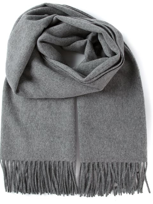 'Canada' Fringed Scarf by Acne Studios in Bridge of Spies