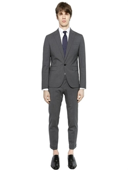 Tokyo Wool Gabardine Suit by Dsquared2 in The Mindy Project