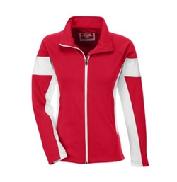 Womens Elite Performance Polyester Full Zip Jacket by Big Top Shirt Shop in Quantico
