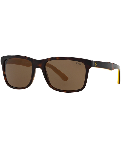 Tortoise Shell Sunglasses by Polo Ralph Lauren in Youth