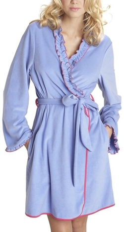 Women's Microfleece Robe by Betsey Johnson in The Big Bang Theory