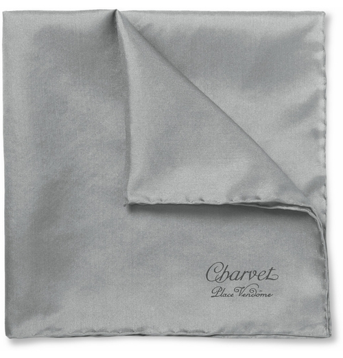 Silk Pocket Square by Charvet in Suits - Season 5 Episode 5