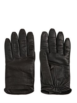 Nappa Leather Touch Screen Gloves by Emporio Armani in Survivor