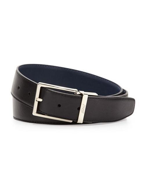 Reversible Leather Belt by Brioni in The Other Woman