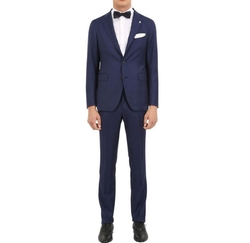 Super 110's Virgin Wool Hopsack Suit by Tagliatore in Designated Survivor