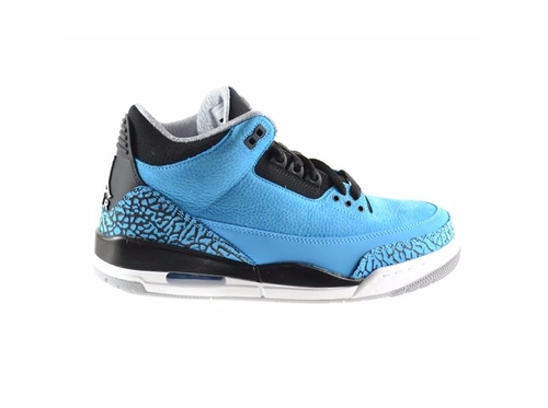 Air Jordan 3 Dark Powder Shoes by Nike in Dope