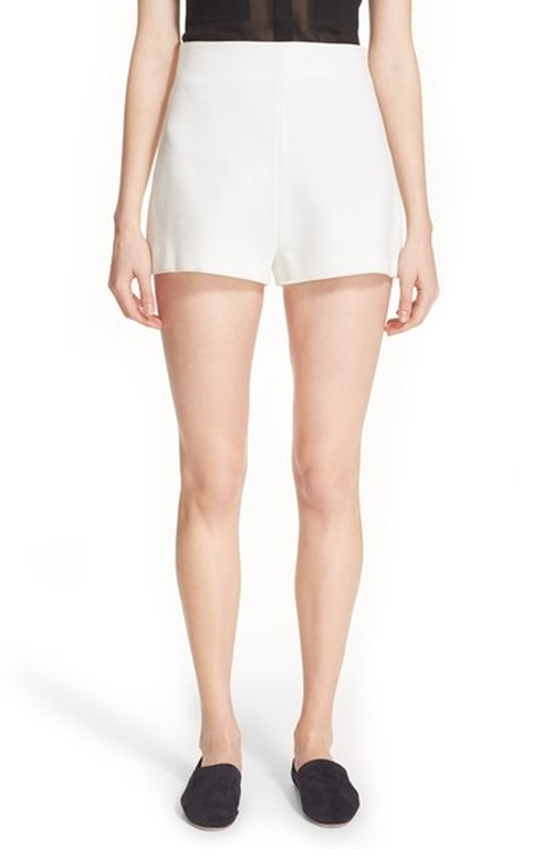 High Waist Scuba Shorts by Rosetta Getty in Keeping Up With The Kardashians - Season 12 Preview