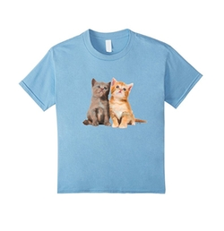 Kittens Cat T-Shirt by Dave Saad Designs in Snatched
