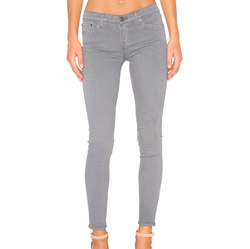 Candice Super Stretch Mid-Rise Skinny Jeans by Grlfrnd in Quantico
