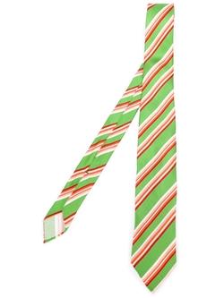 Striped Tie by Kiton in Chi-Raq