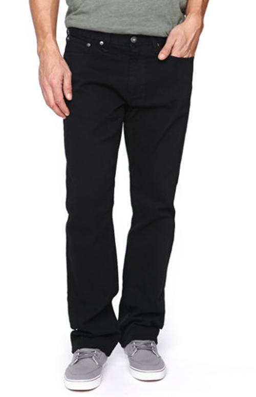 Gravels Slim Black Twill Pants by Bullhead Denim Co in Brick Mansions