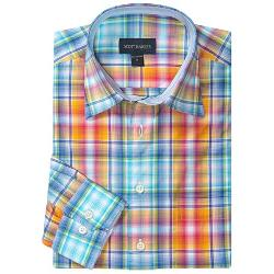 Christopher Plaid Sport Shirt by Scott Barber in About Last Night