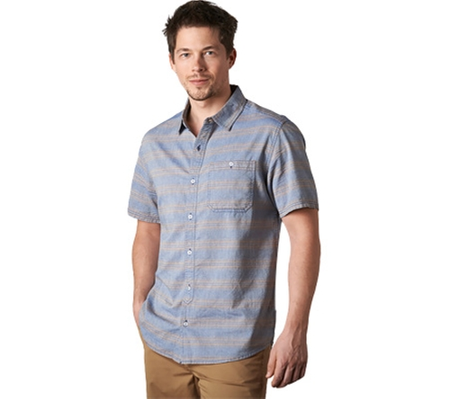 Hardscape Short Sleeve Shirt by Toad&Co  in Flaked - Season 1 Preview