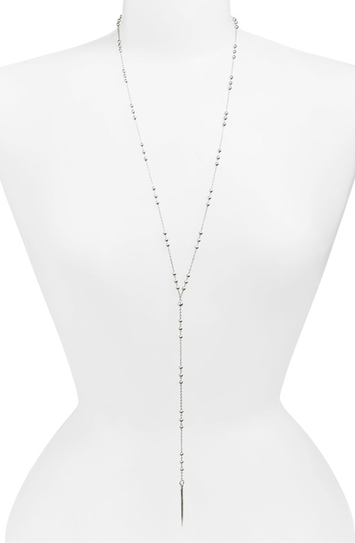 Long Y-Necklace by Dogeared in Arrow - Season 4 Episode 9