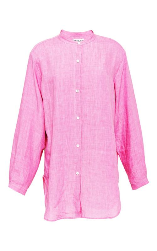 Augustina Button Down Shirt by Apiece Apart in The Other Woman