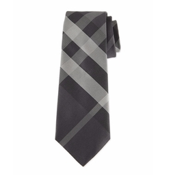 Beat Check Silk Tie by Burberry in Jason Bourne