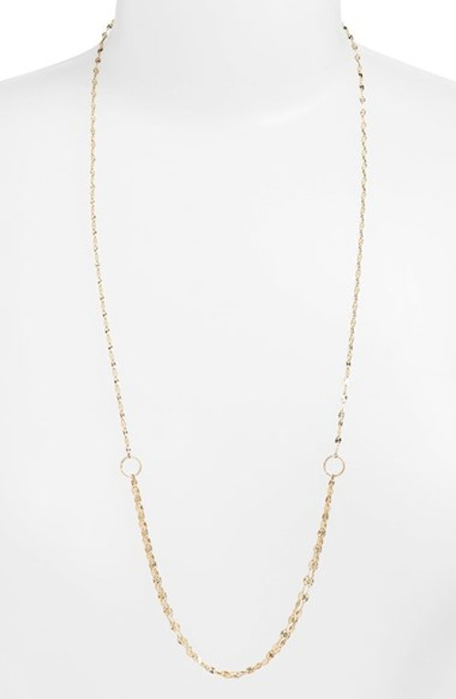 'Mega Blush' Long Link Necklace by Lana Jewelry in Top Five