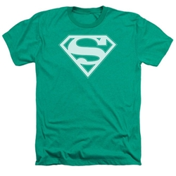 Shield Heather T-Shirt by Superman in The Big Bang Theory