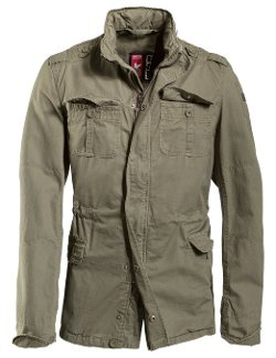 Delta Britannia Olive Washed Field Jacket by Surplus in The Best of Me