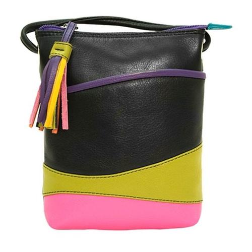 Colorblock Cross-Body Handbag by Ili in Fuller House - Season 1 Episode 1