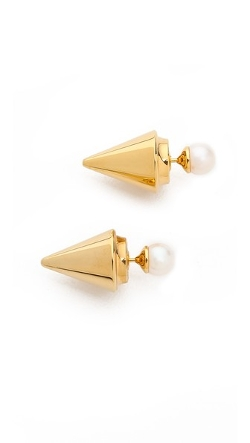 Double Titan Earrings by Vita Fede in Before I Wake