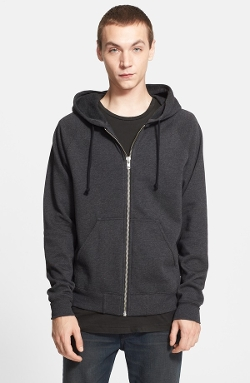 Full Zip Hoodie by BLK DNM in Southpaw