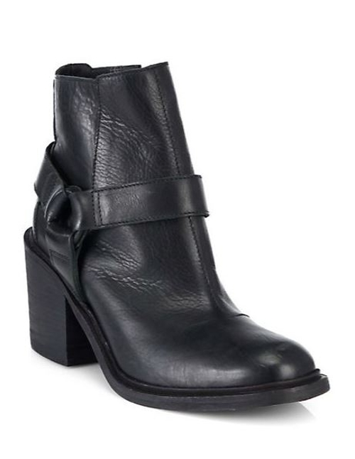 The Face Leather Ankle Boots by LD Tuttle in Magic Mike XXL
