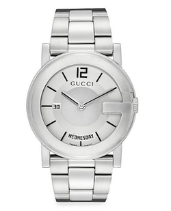 G-Round Stainless Steel Watch by Gucci in Safe House