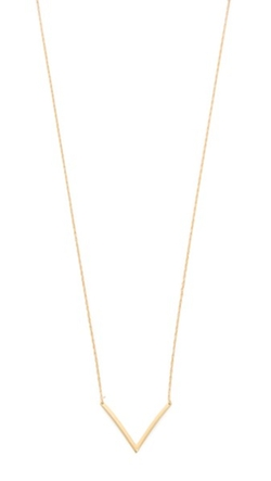 Bianca Small Necklace by Jennifer Zeuner Jewelry in Jessica Jones
