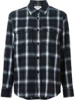 Classic Plaid Shirt by Saint Laurent in Nashville