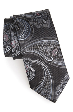 Woven Silk Tie by John W. Nordstrom in The Devil Wears Prada