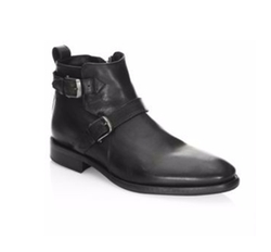 Sullivan Almond Toe Boots by John Varvatos in Jason Bourne