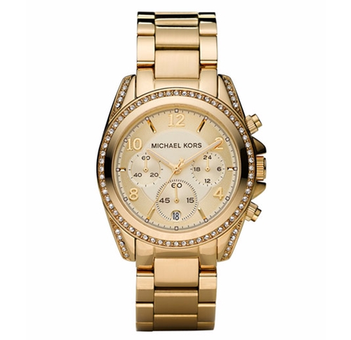 Golden Runway Watch with Glitz by Michael Kors in Keeping Up With The Kardashians - Season 12 Episode 11