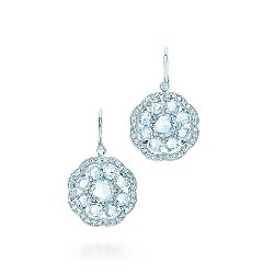 Fleur Earrings by Tiffany & Co. in The Great Gatsby