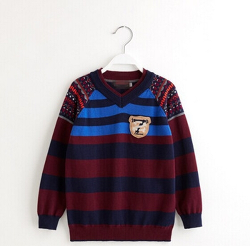Boys Stripe V-Neck Sweater by AliExpress in Before I Wake