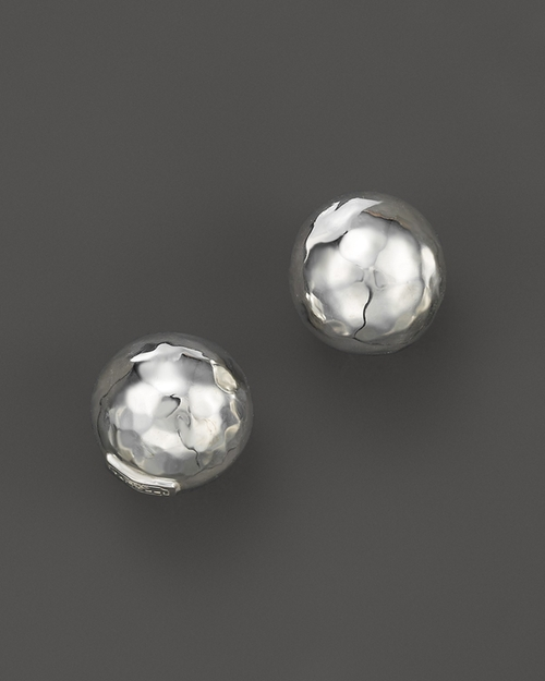 Glamazon Sterling Silver Hammered Ball Stud Earrings by Ippolita in Scream Queens - Season 1 Episode 1