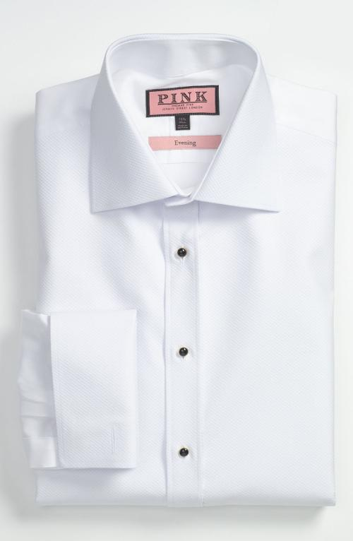 Slim Fit Tuxedo Shirt by Thomas Pink in Yves Saint Laurent