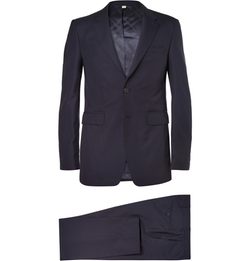 Slim-Fit Wool Suit by Burberry London in House of Cards