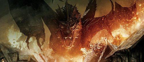 Smaug by Weta Workshop & Weta Digital in The Hobbit: The Battle of The Five Armies