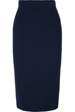 Arreton Wool-Crepe Pencil Skirt by Roland Mouret in Suits