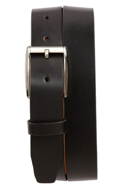 'Romeo' Leather Belt by Remo Tulliani in Suits