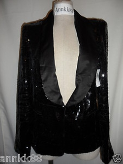 Sequin Tuxedo Jacket by Custom in Pitch Perfect 2