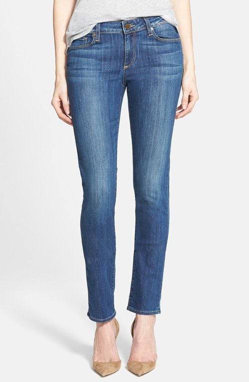'Skyline' Denim Skinny Jeans by Paige in Begin Again