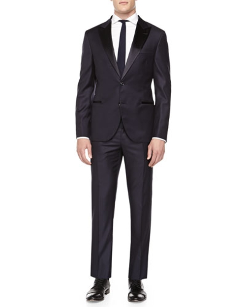 Wool Peak-Lapel Tuxedo Suit by Brunello Cucinelli in Mission: Impossible - Rogue Nation