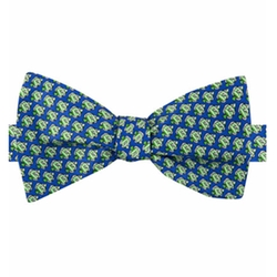 Fish Print To-Tie Bow Tie by Tommy Hilfiger in Bastards
