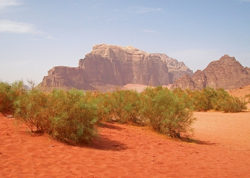 Wadi Rum (Depicted As Mars) Aqaba, Jordan in The Martian